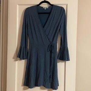 NWOT She + Sky Blue Long Sleeve Dress